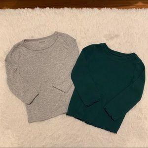 Bundle Gymboree long sleeve t-shirts 18-24 months